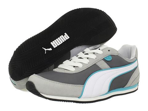 Adidasi PUMA - Roosh Runner LS Wn\s MU - Steel Gray/High Rise/White/Blue