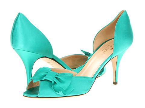 Pantofi Kate Spade New York - Shalyn - Emerald Satin