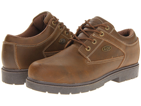 Pantofi Lugz - Savoy - Brown/Light Brown Natural Leather