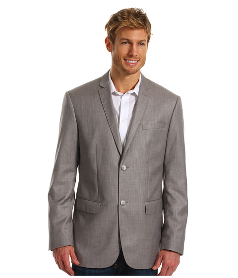 Jachete Perry Ellis - Textured Suit Jacket - Pewter Heather