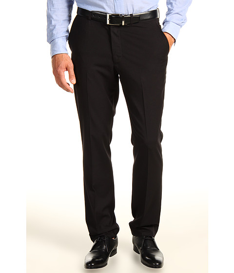 Pantaloni Perry Ellis - Slim Fit Solid Pant - Black
