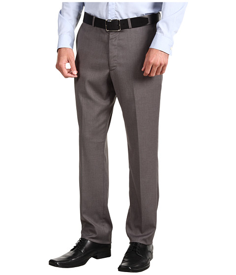 Pantaloni Perry Ellis - Slim Fit Solid Pant - Iron Ore Heather