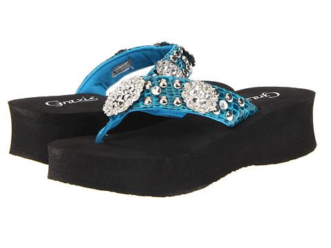 Sandale Grazie - Trapeze - Turquoise