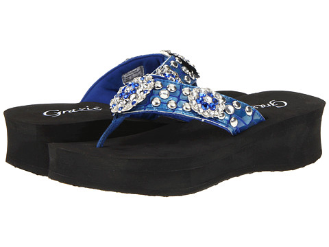 Sandale Grazie - Trendz - Royal Blue