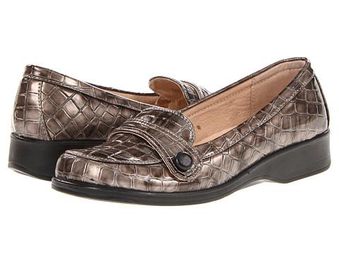 Pantofi PATRIZIA - Croco - Pewter