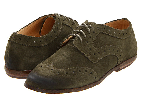 Pantofi VOLATILE - Brogue - Olive