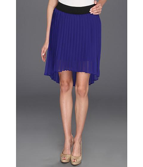 Fuste Pure & Simple - Kara Skirt with High-Low Hem - Marina