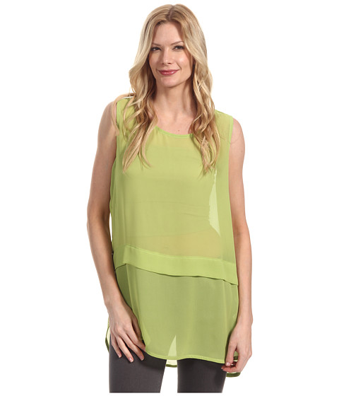 Bluze Pure & Simple - Debra Sleeveless Tunic - Keylime