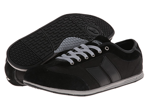 Adidasi Macbeth - Brighton - Black/Medium Grey/Suede/Canvas