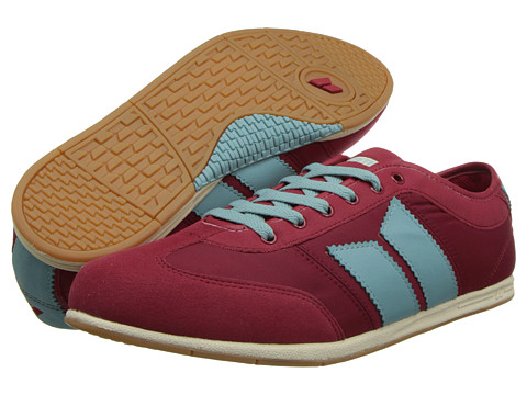 Adidasi Macbeth - Brighton - Muted Red/Robin Egg/Retro Nylon/Synthetic Suede