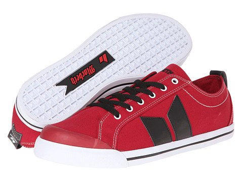 Adidasi Macbeth - Eliot Vegan - Muted Red/Black/Classic Canvas