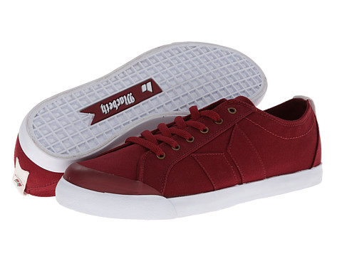 Adidasi Macbeth - Eliot Vegan - Ox Blood/White/Classic Canvas