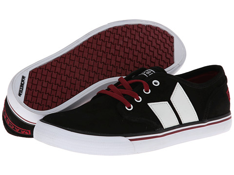 Poza Adidasi Macbeth - Langley - Black/Ox Blood/Suede/Synthetic Leather