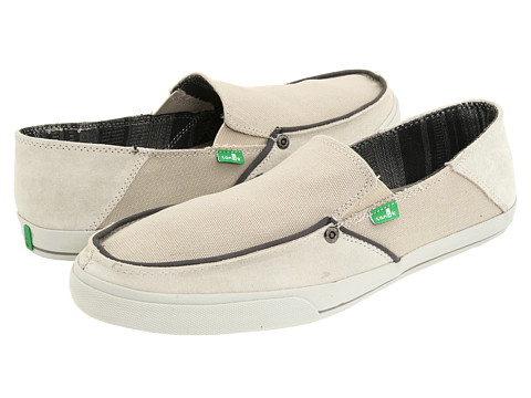 Pantofi Sanuk - Standard Trim - Stone