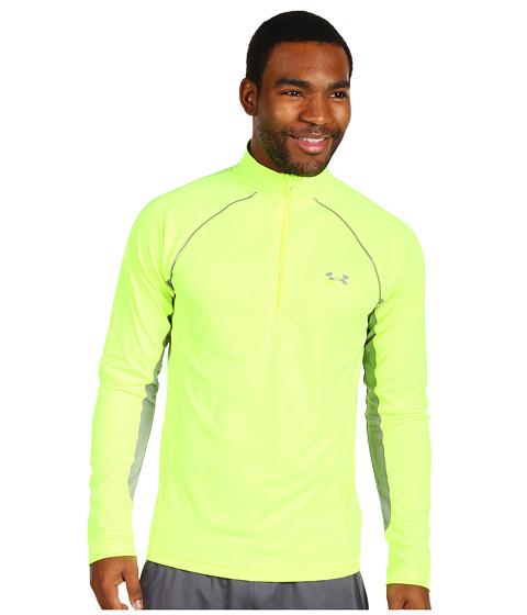 Tricouri Under Armour - Run 1/4 Zip Jacket - High Viz Yellow/Steel/Reflective