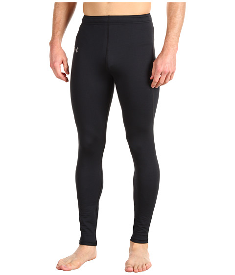 Pantaloni Under Armour - EVO ColdGearÃ'® Fitted Legging - Black/Silver