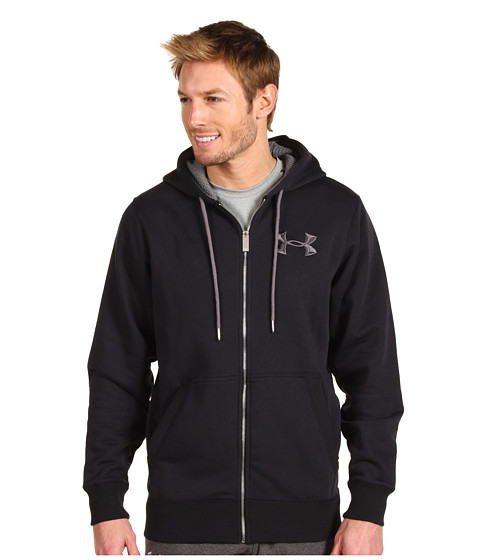 Bluze Under Armour - Charged Cotton® Storm Full-Zip Hoodie - Black/Graphic