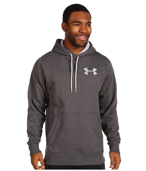 Bluze Under Armour - Charged Cotton® Storm Pullover Hoodie - Carbon Heather/Aluminum
