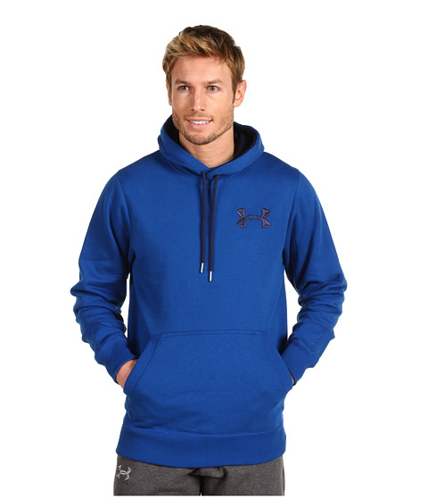 Bluze Under Armour - Charged Cottonî Storm Pullover Hoodie - Empire Blue/Midnight Navy