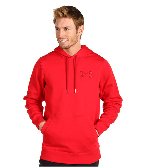 Bluze Under Armour - Charged Cottonî Storm Pullover Hoodie - Red/Crimson