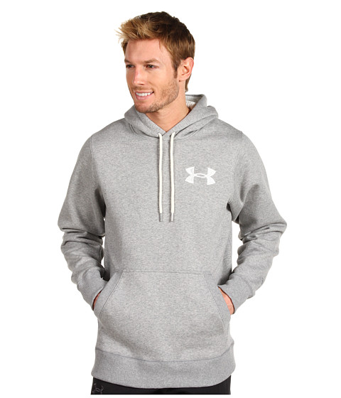 Bluze Under Armour - Charged Cotton® Storm Pullover Hoodie - True Grey Heather/Ivory