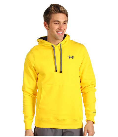 Bluze Under Armour - Charged Cottonî Storm Transit Hoodie - Taxi/Graphite