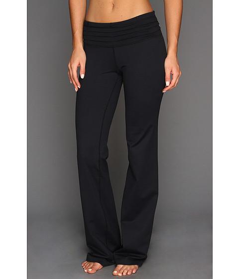 Pantaloni Under Armour - StudioLuxî Quattro Flare Pant - Black/Black/Metallic Pewter