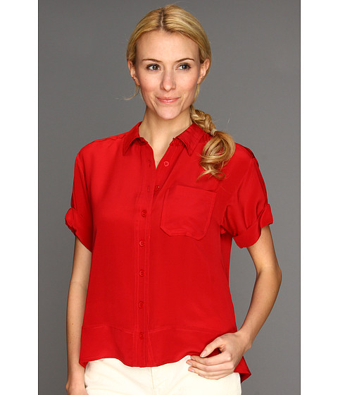 Camasi Nanette Lepore - Twister Top - Poppy Red