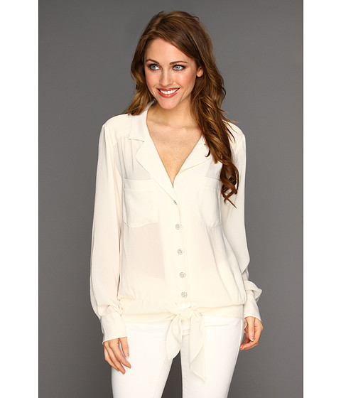 Bluze Nanette Lepore - Knot It Top - Ivory