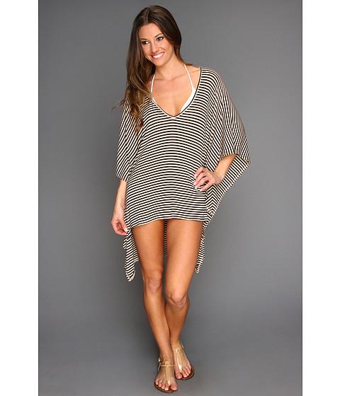 Bluze Rachel Pally - Rib Poncho Top - Bamboo/Black Stripe