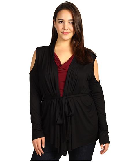 Bluze Rachel Pally - Plus Size Gemini Wrap Top - Black