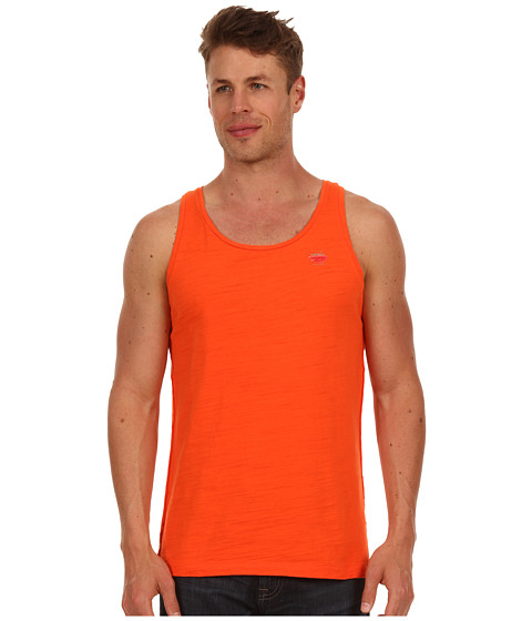 Tricouri Diesel - Zaby Out Of Water Tank PXE - Orange