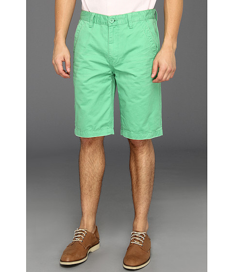 Pantaloni Calvin Klein - Washed Colored Trouser Short - Track Green