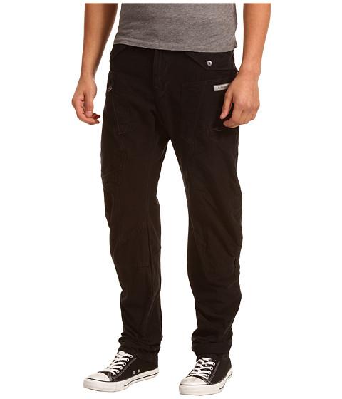 Pantaloni G-Star - RCO Powel 3D Tapered - Reverse Slub Overdye Black