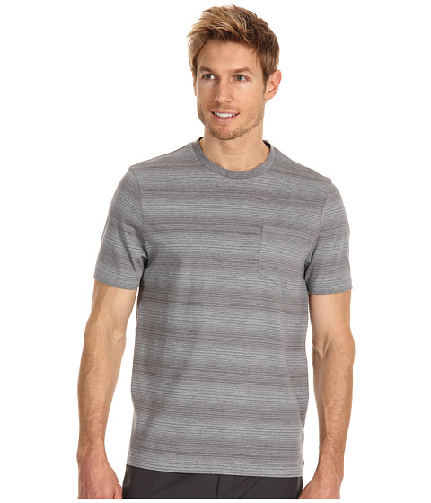 Tricouri Perry Ellis - Cotton Blend Crew Neck Tee - Keystone