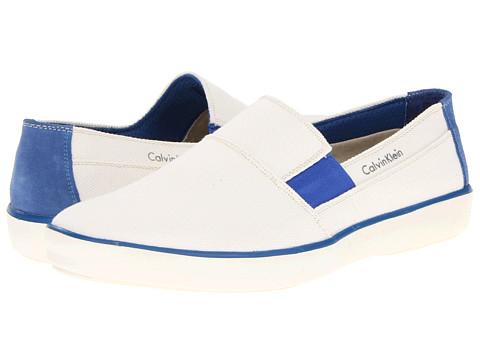 Pantofi Calvin Klein - Nevan - White/Blue