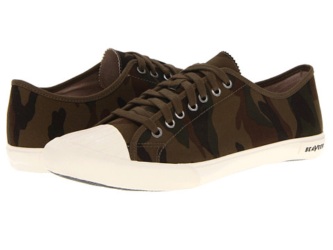 Adidasi SeaVees - 08/61 Army Issue Sneaker - Olive Camouflage Ripstop