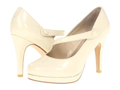 Pantofi Fitzwell - Gemma Mary Jane Pump - Nude Patent