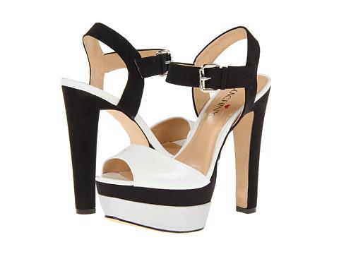 Pantofi Luichiny - Gene Vieve - Black/White/Silver