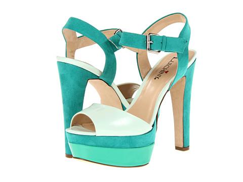 Pantofi Luichiny - Gene Vieve - Green/Mint/Green