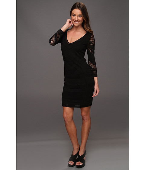Rochii Catherine Malandrino - Pointelle Dress - Noir