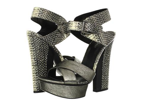 Pantofi Nine West - Harriets - Pewter/Grey Multi Metallic