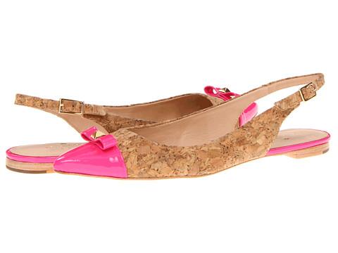 Balerini Kate Spade New York - Ginny - Natural/Lipstick Pink Patent/Cork