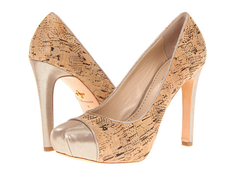 Pantofi Pour La Victoire - Gianna - Metallic/Natural Starlight/Laser Cork