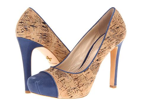 Pantofi Pour La Victoire - Gianna - Navy/Natural Starlight/Laser Cork
