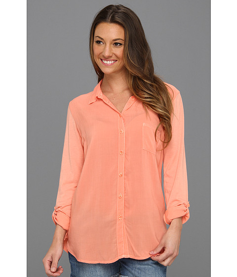 Bluze Splendid - Boyfriend Button Down - Apricot
