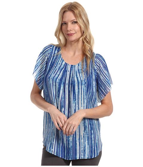 Tricouri Calvin Klein - Printed Layered Top - Ultra Blue