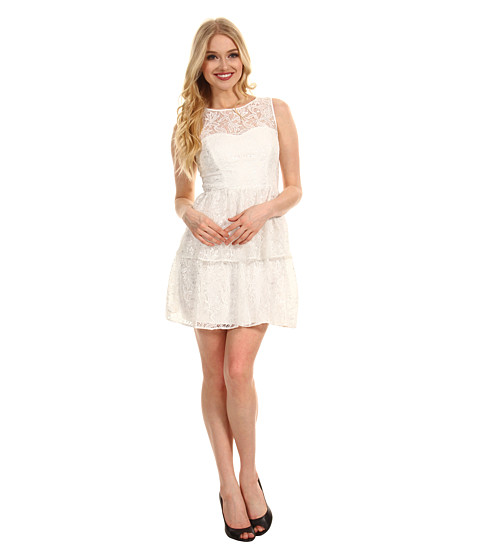 Rochii Max and Cleo - Rose Cut Out Lace Dress - White