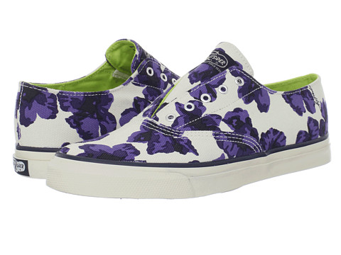 Adidasi Sperry Top-Sider - CVO Laceless - Blue Milly Floral Print