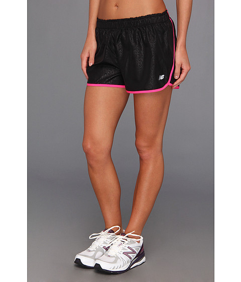 Pantaloni New Balance - Pacer Short - Pink Glo